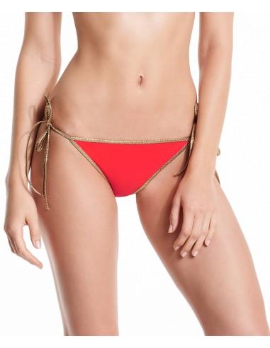 Bikini reversible Rosso & Bordeaux - bottom - Swimwear - Tooshie
