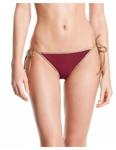 WhICH SEASON????Bikini reversible Bordeaux & Petrol Blue - bottom - Swimwear - Tooshie