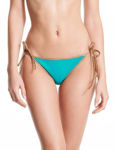 Bikini reversible Turquoise & Green - bottom - Swimwear - Tooshie