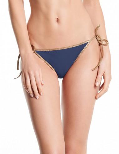 MISSING BLACK 201 Bikini reversible Navy & Black - bottom - Swimwear - Tooshie