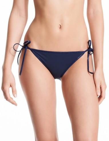 Bikini reversible Marine & Dark Grey - bottom Navy Lurex - Swimwear - Tooshie