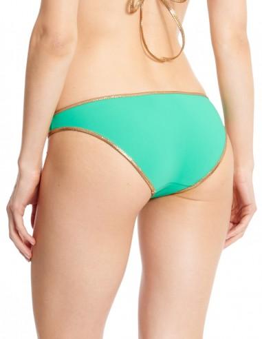 Missing Sand Photo Bikini bandeau Green / Sand - bottom - Swimwear - Tooshie