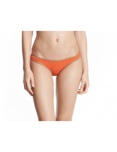Swimsuit bandeau reversible orange/red bottom - Hampton bandeau - Home - Tooshie