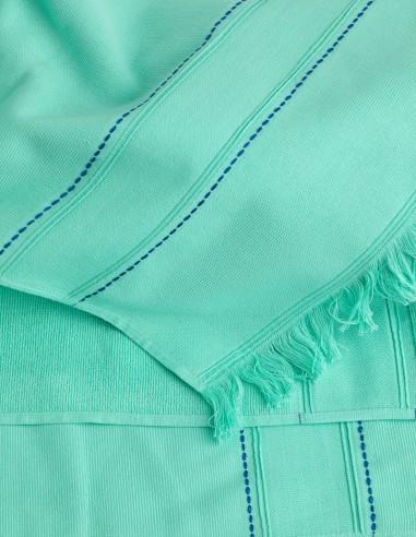 Beach Towel Hampton Collection- TURQUOISE Tooshie