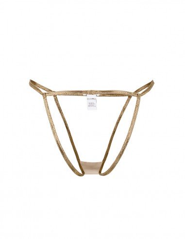 BOTTOM TRIANGLE LUREX FRONT - Lingerie - Tooshie