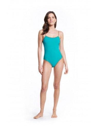 SWIMSUIT REVERSIBLE GOLD BRIDGEHAMPTON - Swimwear - Tooshie