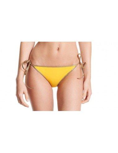 Bikini reversible yellow orange - bottom - Swimwear - Tooshie