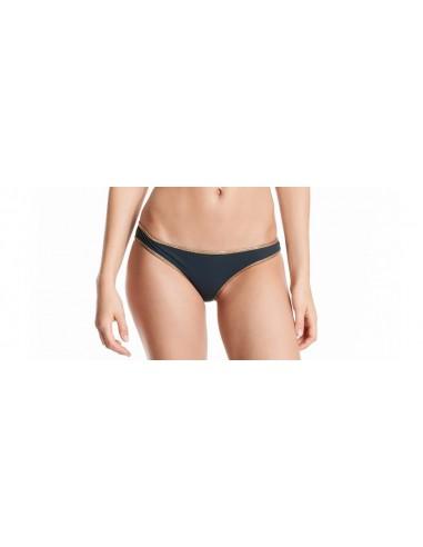Bikini bandeau Marine / Dark Grey bottom - Hampton collection - Swimwear - Tooshie