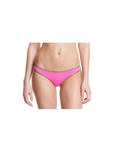 Bikini bandeau Bordeaux / Bubble bottom - Hampton collection - Swimwear - Tooshie