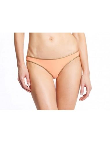 Bikini bandeau Apricot Mandarine bottom - Swimwear - Tooshie