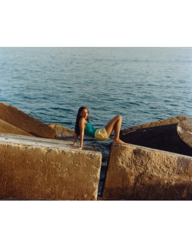 SHORTS COTTON EMBROIDERED GIANELLA - Beachwear - Tooshie