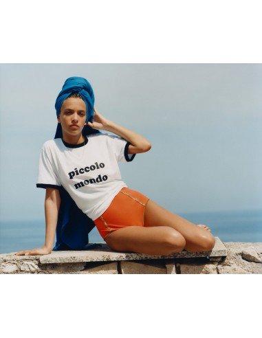 T-SHIRT COTTON PICCOLO MONDO - Beachwear - Tooshie
