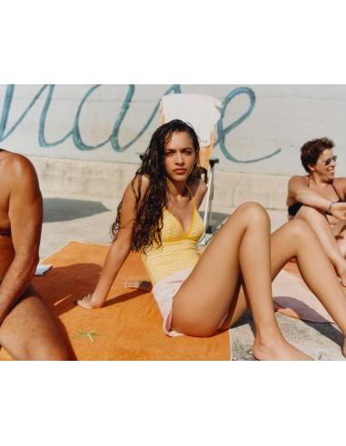 SWIMSUIT REVERSIBLE STRIPE STRESA - Swimwear - Tooshie